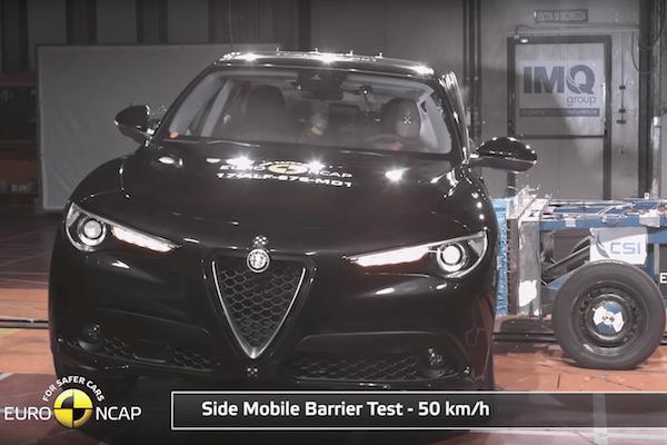 Alfa Romeo Stelvio EuroNCAP