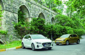 Hyundai i30 & Volkswagen Golf