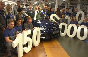 150 milyonuncu Volkswagen