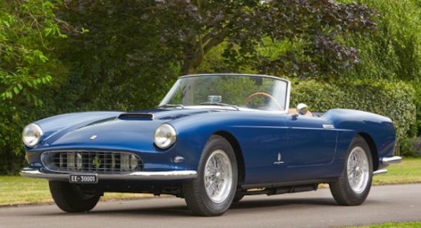 1959 Ferrari 250 GT Series 1 Cabrio