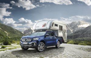 Caravan, Motor, Touristik 2018 Mercedes-Benz X-Class karavan