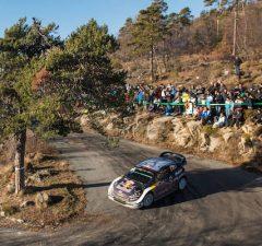 Rallye Monte-Carlo Sebastien Ogier