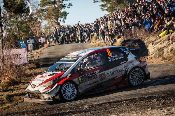 Rallye Monte-Carlo Ott Tanak
