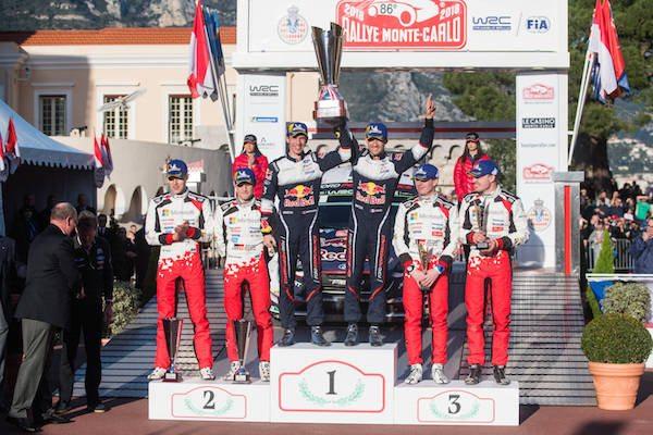 Rallye Monte-Carlo Podium