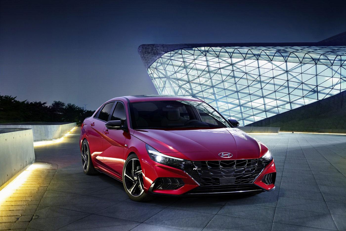 Hyundai'den Yeni Elantra N-Line   Autocar